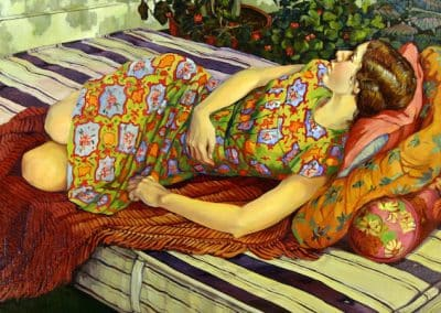 Kathryn Mowrer Leach, Sleeping