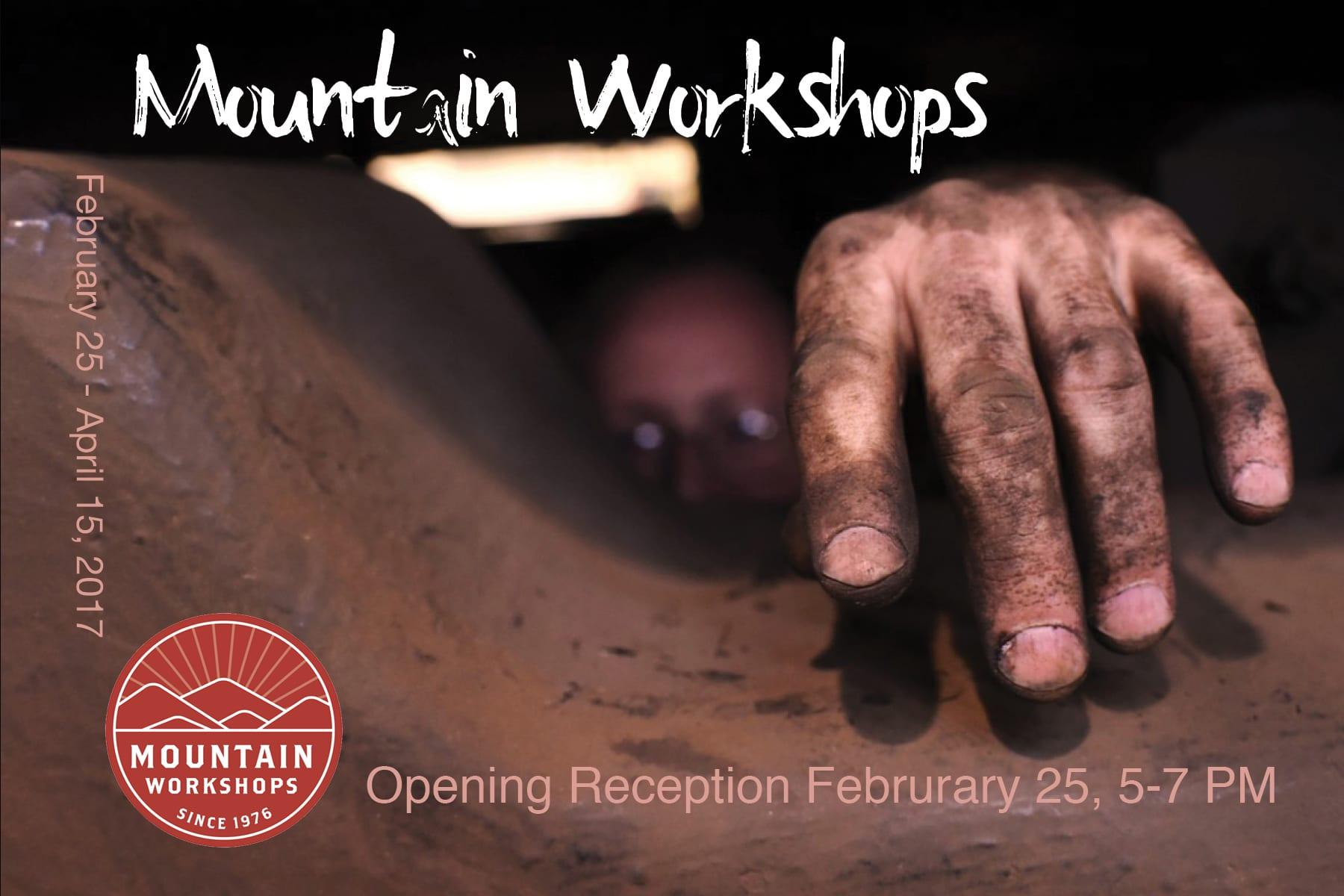 mountain workshop postcard