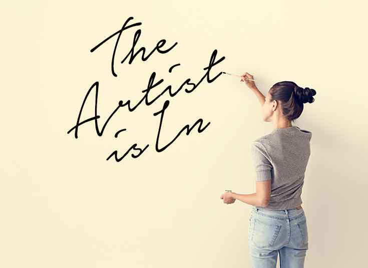 The Artist Is In