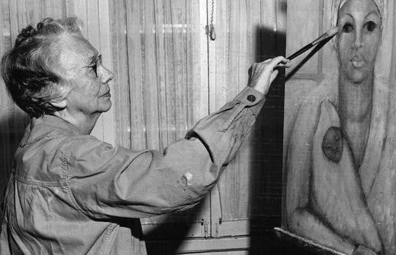Mary Yeiser Painting