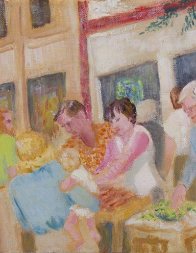Mary Yeiser, Farmer's Market on the Streets