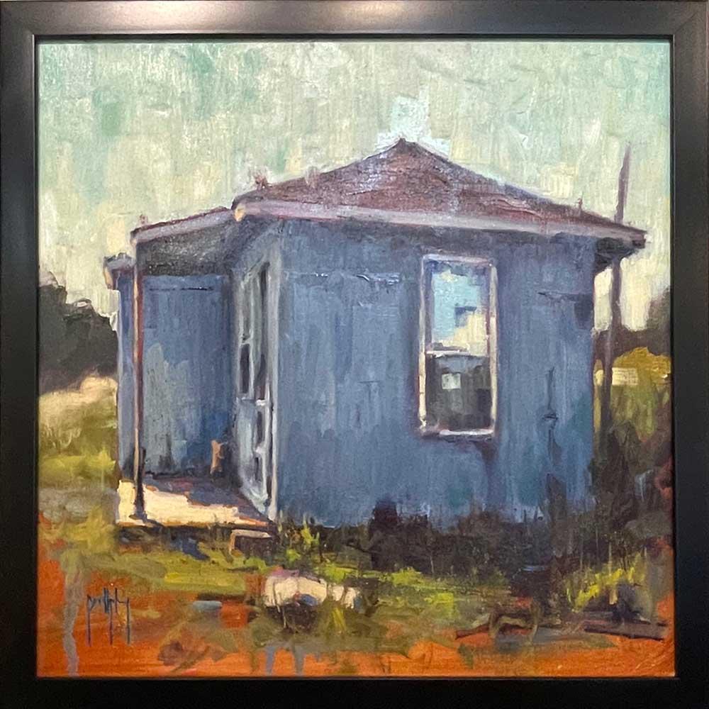 Jason Bailey, Farmhouse in Blue