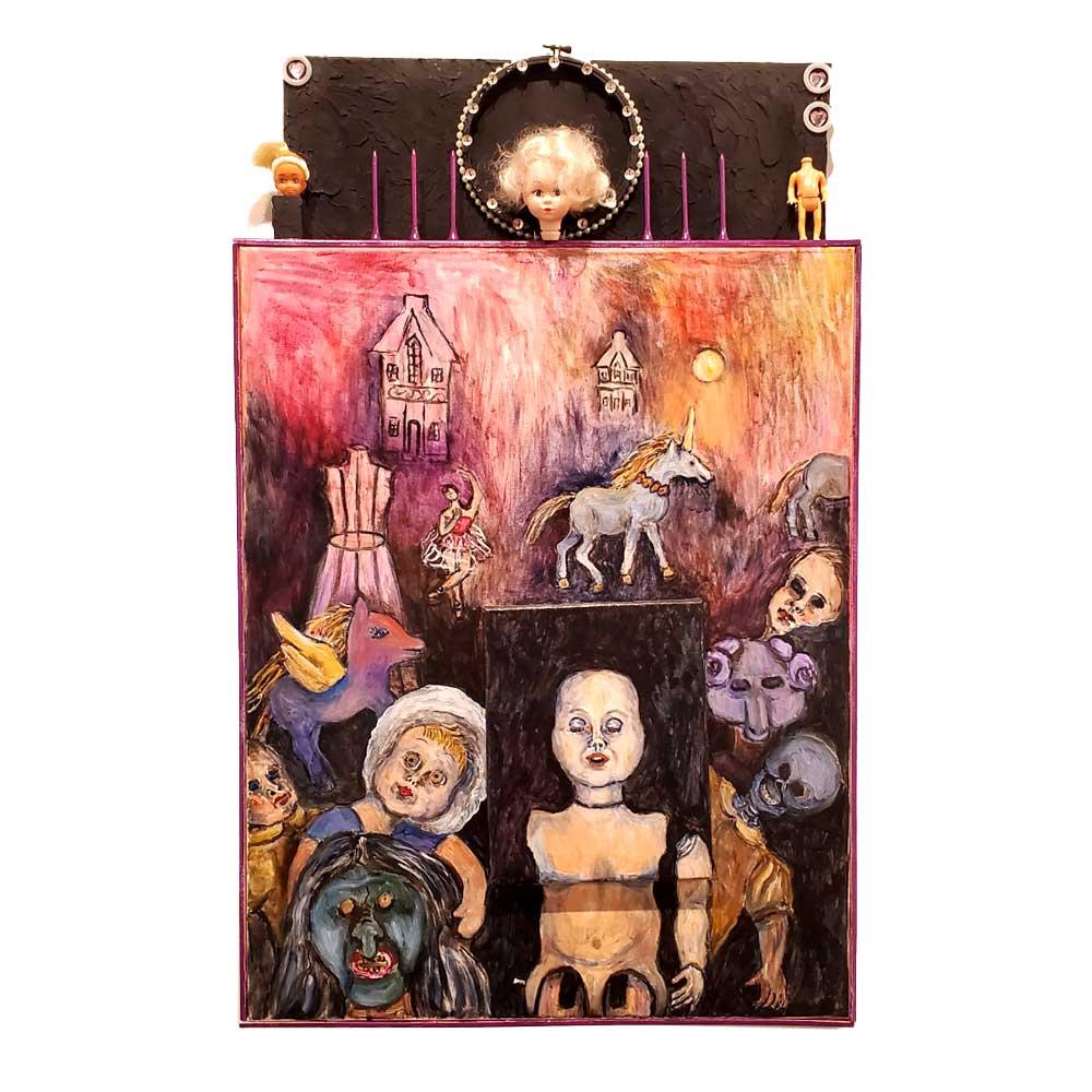 Paula Danby, Evolution of a Doll